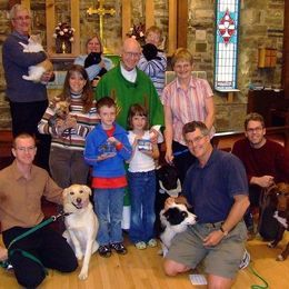 The Blessing of Animals, St. Francis Anglican, Mindemoya